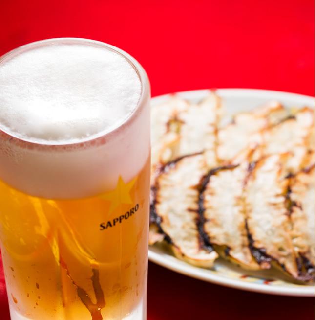 昭和49年創業 阪急相川駅からすぐの餃子が食べられるお店  地域の皆さまに愛され続け、44年。