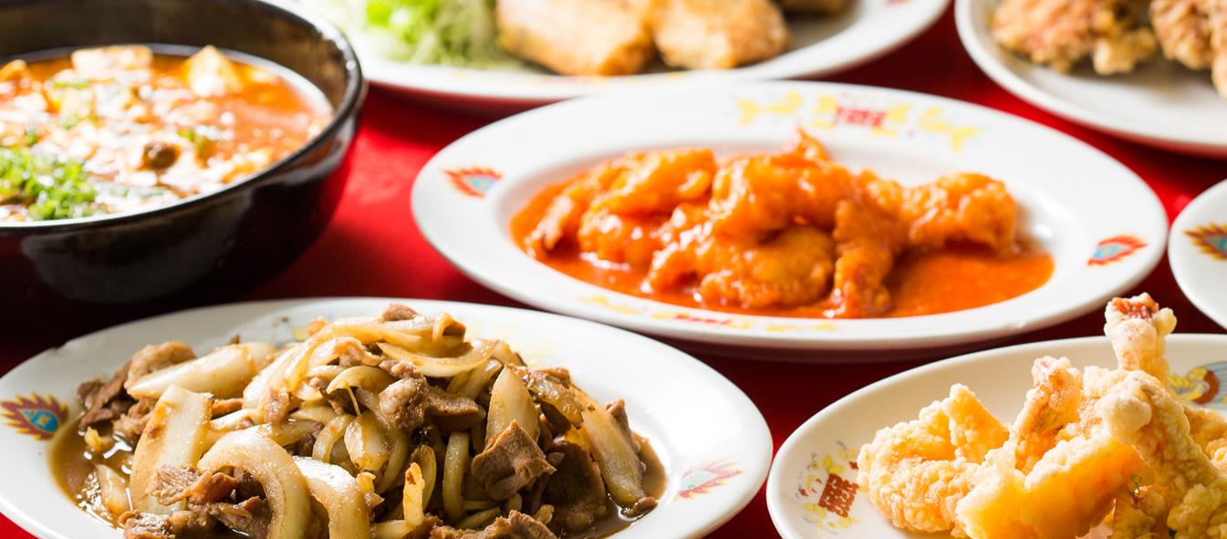 昭和49年創業の歴史 餃子の老舗 料理画像